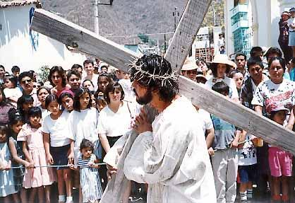 Good Friday the Passion of Jesus in Ajijic
