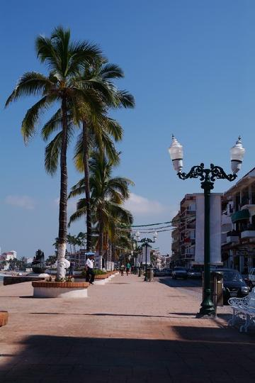 The Malecon in Vallarta