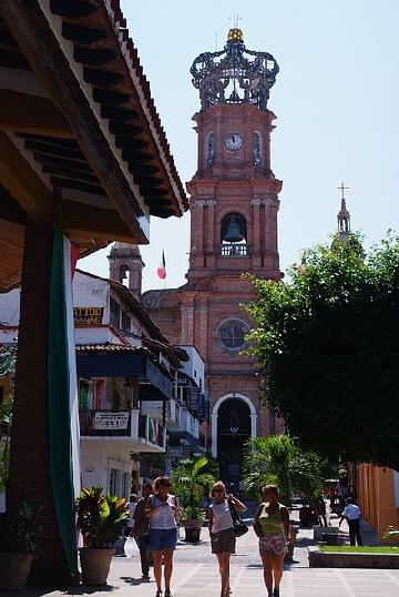 Puerto Vallarta Church Tower