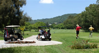 Golf in Lake Chapala