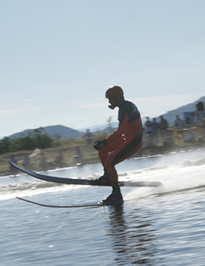 Skiing in Lake Chapala